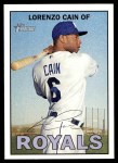 2016 Topps Heritage #479 A Lorenzo Cain  Front Thumbnail