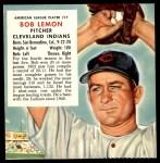 1953 Red Man #17 AL x Bob Lemon  Front Thumbnail