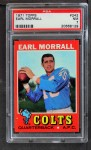 1971 Topps #242  Earl Morrall  Front Thumbnail