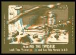 1963 Topps Astronauts 3D #38   -  John Glenn Getting into the suit Back Thumbnail