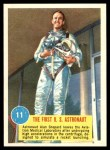 1963 Topps Astronauts #11   -  Alan Shepard The First US Astronaut Front Thumbnail