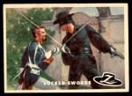 1958 Topps Zorro #31   Locked Swords Front Thumbnail