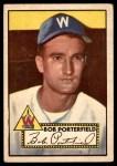 1952 Topps #301  Bob Porterfield  Front Thumbnail