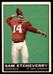 1961 Topps #115  Sam Etcheverry  Front Thumbnail