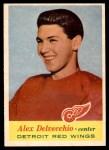 1957 Topps #34  Alex Delvecchio  Front Thumbnail