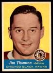 1957 Topps #23  Jim Thomson  Front Thumbnail