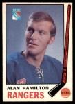 1969 O-Pee-Chee #192  Al Hamilton  Front Thumbnail