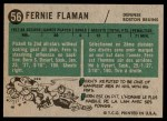 1958 Topps #56  Fern Flaman  Back Thumbnail