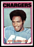 1972 Topps #117  Jeff Queen  Front Thumbnail