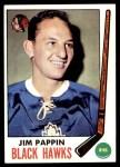 1969 Topps #73  Jim Pappin  Front Thumbnail