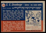1957 Topps #26  Ed Litzenberger  Back Thumbnail
