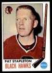 1969 Topps #69  Pat Stapleton  Front Thumbnail