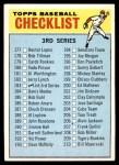 1966 Topps #183 SM  Checklist 3  Front Thumbnail