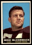 1961 Topps #72  Mike McCormack  Front Thumbnail