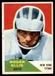 1960 Fleer #119  Roger Ellis  Front Thumbnail