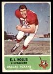 1962 Fleer #30  EJ Holub  Front Thumbnail
