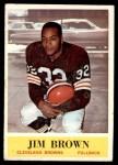 1964 Philadelphia #30  Jim Brown   Front Thumbnail