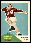 1960 Fleer #2  Corky Tharp  Front Thumbnail
