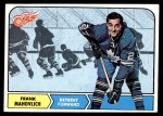 1968 Topps #31  Frank Mahovlich  Front Thumbnail