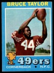 1971 Topps #239  Bruce Taylor  Front Thumbnail