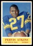 1964 Philadelphia #86  Pervis Atkins   Front Thumbnail