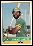 1976 Topps #274  Tommy Harper  Front Thumbnail