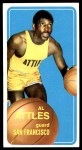 1970 Topps #59  Al Attles   Front Thumbnail