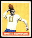 1948 Leaf #9 YEL Tommy Thompson  Front Thumbnail