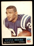 1965 Philadelphia #8  Lenny Moore   Front Thumbnail