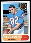 1968 Topps #175  Paul Costa  Front Thumbnail