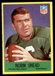 1967 Philadelphia #142  Norm Snead  Front Thumbnail