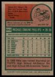 1975 Topps #642  Mike Phillips  Back Thumbnail