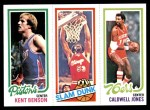 1980 Topps   -  Kent Benson / Artis Gilmore / Caldwell Jones 84 / 259 / 184 Front Thumbnail