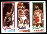 1980 Topps   -  Bill Cartwright / Kevin Porter / Armond Hill 166 / 244 / 25 Front Thumbnail