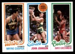 1980 Topps   -  Wayne Cooper / John Johnson / David Greenwood 95 / 226 / 45 Front Thumbnail
