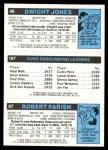 1980 Topps   -  Robert Parish / Leonard Robinson / Dwight Jones 97 / 187 / 46 Back Thumbnail