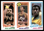 1980 Topps   -  Mike Bantom / Adrian Dantley / James Bailey 115 / 6 / 227 Front Thumbnail