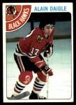1978 Topps #117  Alain Daigle  Front Thumbnail