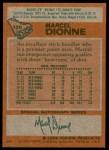 1978 Topps #120  Marcel Dionne  Back Thumbnail