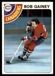 1978 Topps #76  Bob Gainey  Front Thumbnail