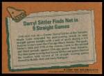 1978 Topps #4   -  Darryl Sittler Highlights Back Thumbnail
