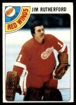 1978 Topps #74  Jim Rutherford  Front Thumbnail