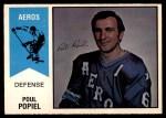1974 O-Pee-Chee WHA #59  Poul Popiel  Front Thumbnail