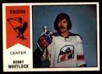 1974 O-Pee-Chee WHA #12  Bob Whitlock  Front Thumbnail