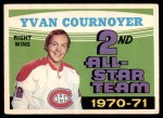 1971 O-Pee-Chee #260   -  Yvan Cournoyer 2nd All-Star Team Front Thumbnail