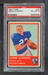 1963 Fleer #72  Lance Alworth  Front Thumbnail