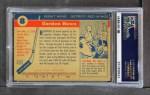 1954 Topps #8  Gordie Howe  Back Thumbnail