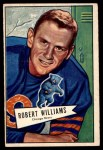 1952 Bowman Large #133  Robert Williams  Front Thumbnail