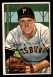 1952 Bowman #191  Bob Friend  Front Thumbnail