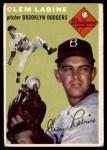 1954 Topps #121  Clem Labine  Front Thumbnail